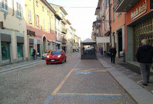 Castel San Giovanni, riorganizzati gli spazi mercatali lungo il Corso