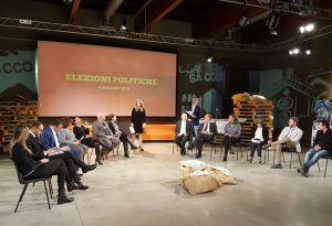 Dall'economia alla cultura, il dibattito tra i candidati a Fuori Sacco