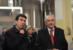 """Il ministro Martina a Borgonovo: """"Orgoglioso del lavoro svolto finora"""""""