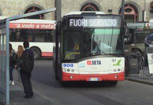 """Oggi sciopero di 24 ore del trasporto pubblico. Seta: """"Possibili disagi"""""""