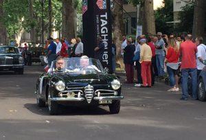 Cpae, auto d'epoca in marcia per il Grande raduno di Primavera