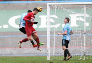 Un'imolese scatenata rifila un tris al Fiorenzuola: di Bigotto il gol della bandiera