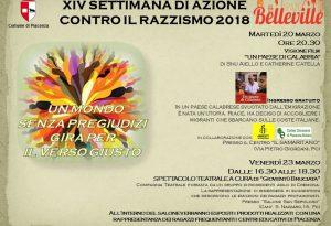 Settimana contro il razzismo, a Piacenza le iniziative dello spazio Belleville