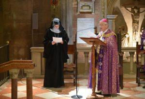 """Lectio quaresimale, Madre Corradini: """"La strada per la santità inizia alla nascita"""""""