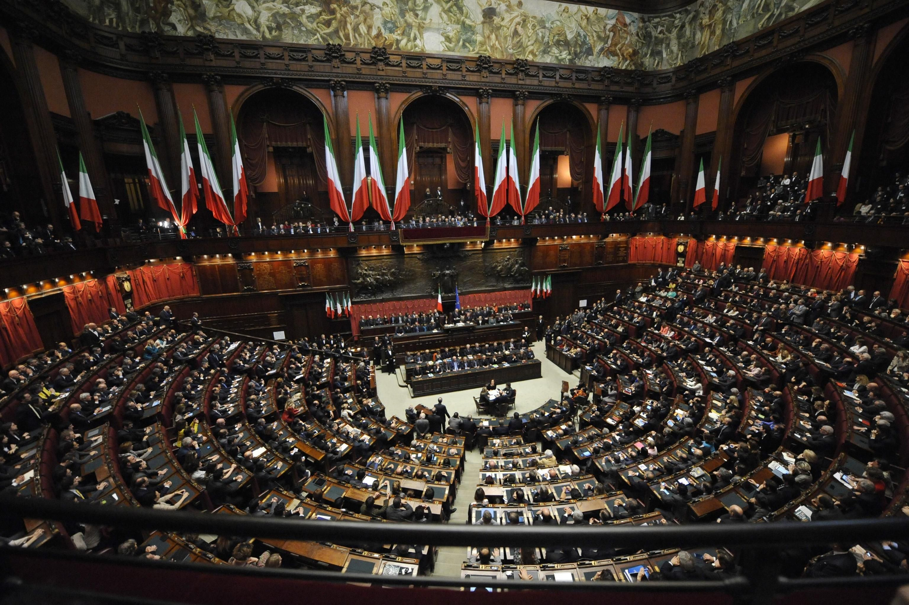 Accordo regge eletti i presidenti di senato e camera for Il senato italiano