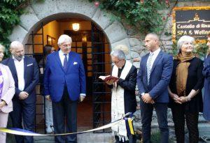 Valorizzazione turistica: inaugurata la spa all'interno del castello di Rivalta