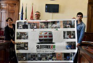 """""""Il cuore di Piacenza libero dal gioco d'azzardo"""". E' la campagna Slot Free"""