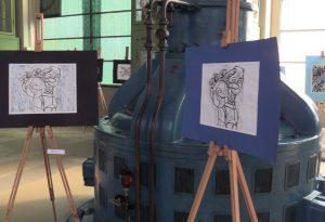 """""""In equilibrio con l'acqua"""": l'incontro tra arte e musica all'impianto della Finarda"""