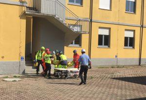 Esercitazione terremoto: evacuate le scuole dell'Unione Valnure e Valchero, un disperso a Carpaneto LE FOTO