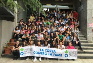 Corsa contro la Fame, a San Nicolò azione solidale degli studenti delle medie