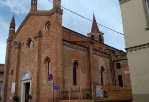 Tetto della Collegiata di Borgonovo: giovedì parte il restauro