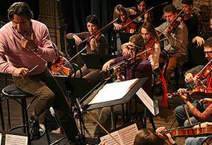 Prova pubblica per il maestro Muti e l'Orchestra Cherubini al Municipale