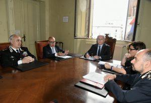 Piacenza chiede 40 nuove telecamere. In arrivo 20 carabinieri e 18 poliziotti