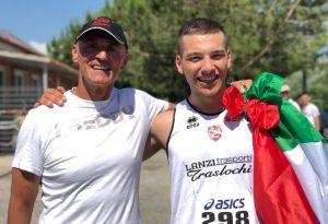 Altra impresa per Norberto Fontana: campione italiano promesse nel giavellotto