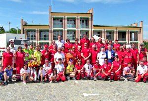 A Podenzano, festa per i dieci anni della Croce Rossa dai numeri record. FOTO