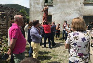 A Predalbora si celebra S.Giovanni: tappa della festa del grano