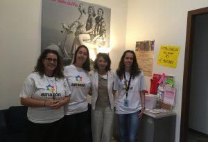 """Stampante e biancheria, il sostegno di Amazon alla """"Città delle Donne"""""""