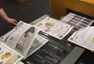 Sciopero al centro stampa di Mantova, Libertà esce in versione inusuale