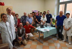 Nuovo ecografo all'avanguardia donato a Oncoematologia