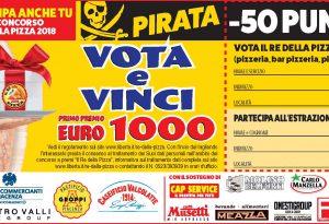 Il re della pizza, oggi con Libertà il tagliando Pirata da -50 punti
