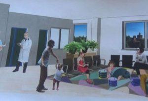 Nuova sala d'attesa e triage, riqualificazione di Pediatria al via