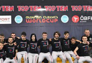 La Yama Arashi brilla anche all'Austrian Classic: una vittoria e otto medaglie