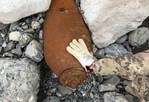 Marsaglia, bonifica bomba: strada interrotta e residenti evacuati