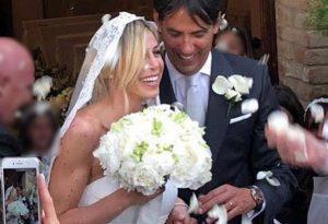 Tanti piacentini al matrimonio di Simone Inzaghi con la bella Gaia