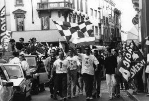 Venticinque anni fa la prima storica promozione in Serie A del Piacenza