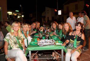 Cena in verde a San Polo: spettacoli, solidarietà ed elezione Mister San Polo