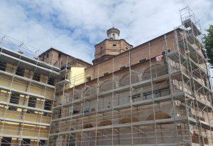 Ex Collegio San Vincenzo: ecco la trasformazione, un loggiato riaperto e 92 posti letto