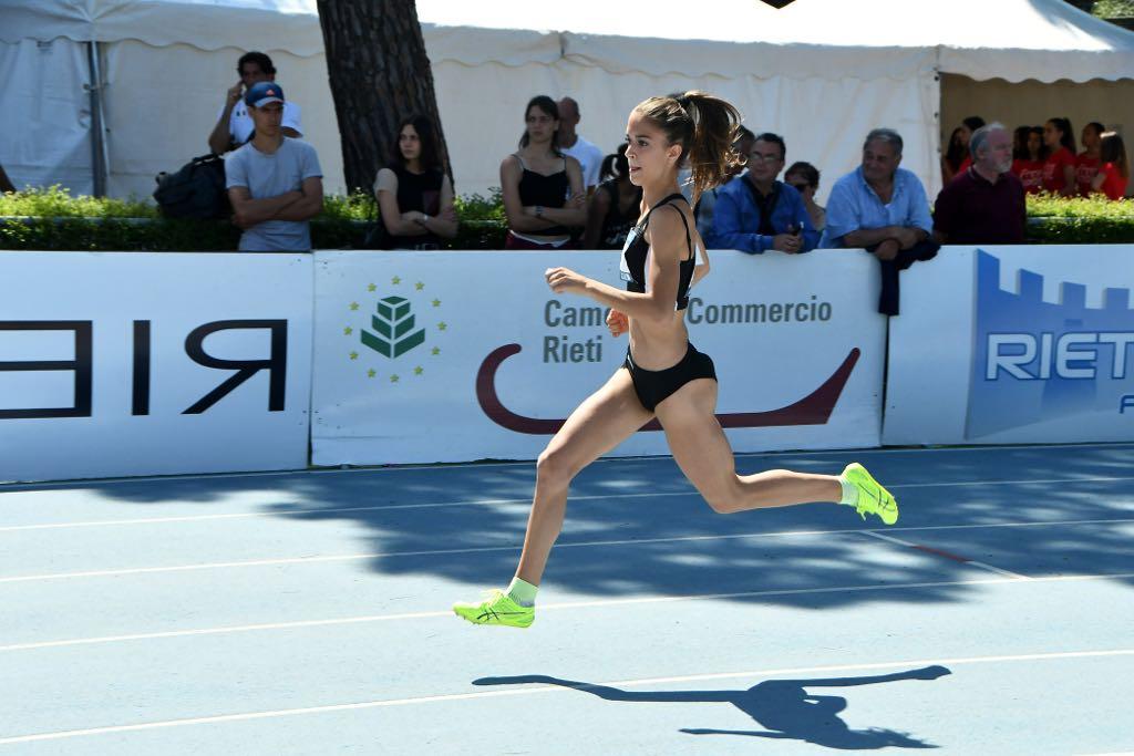 Quattro titoli Regionali per l'Atletica 5 Cerchi: doppietta per Sara Balordi