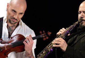 Violino e sax per incantare Pianello: in scena la coppia Quarta-Di Battista