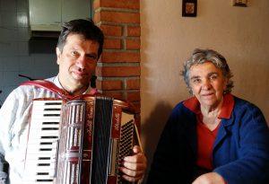 La voce dell'81enne Gina Guglielmetti nell'ultimo album degli Statale 45