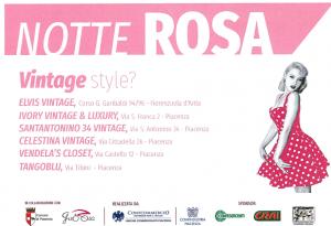 Questa sera arriva la Notte Rosa: dj set, stand gastronomici e tanto altro