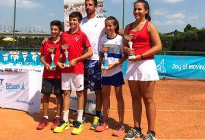 Nino Bixio e Vittorino, l'unione fa la forza: al trofeo Kinder, quattro vittorie che spalancano le porte del Foro Italico