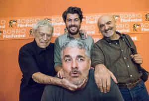 """Al Bobbio Film Festival, è stata la serata di """"Nobili bugie"""". Ovazione per Raffaele Pisu"""
