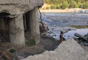 """Ponte """"Cento Merli"""", cemento giù dalle pareti. Pasquali: """"Verifica subito"""""""