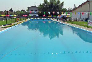 Inaugurata la piscina scoperta di Vigolzone. Sabato 4 agosto apre al pubblico