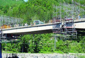 """Anche a Marsaglia un ponte """"Morandi"""": presenta segni di degrado"""