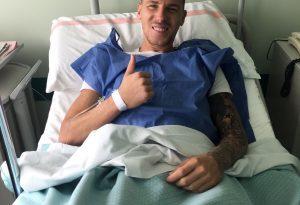 Simone Corazza, ok l'operazione al ginocchio infortunato