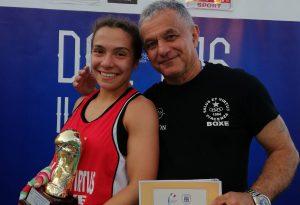 Roberta Bonatti insignita della medaglia di bronzo al valore sportivo