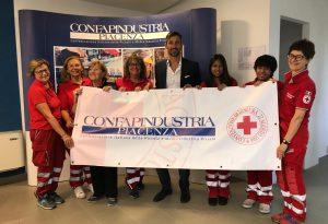 Confapindustria generosa: raccolti e donati 1.500 euro alla Croce Rossa