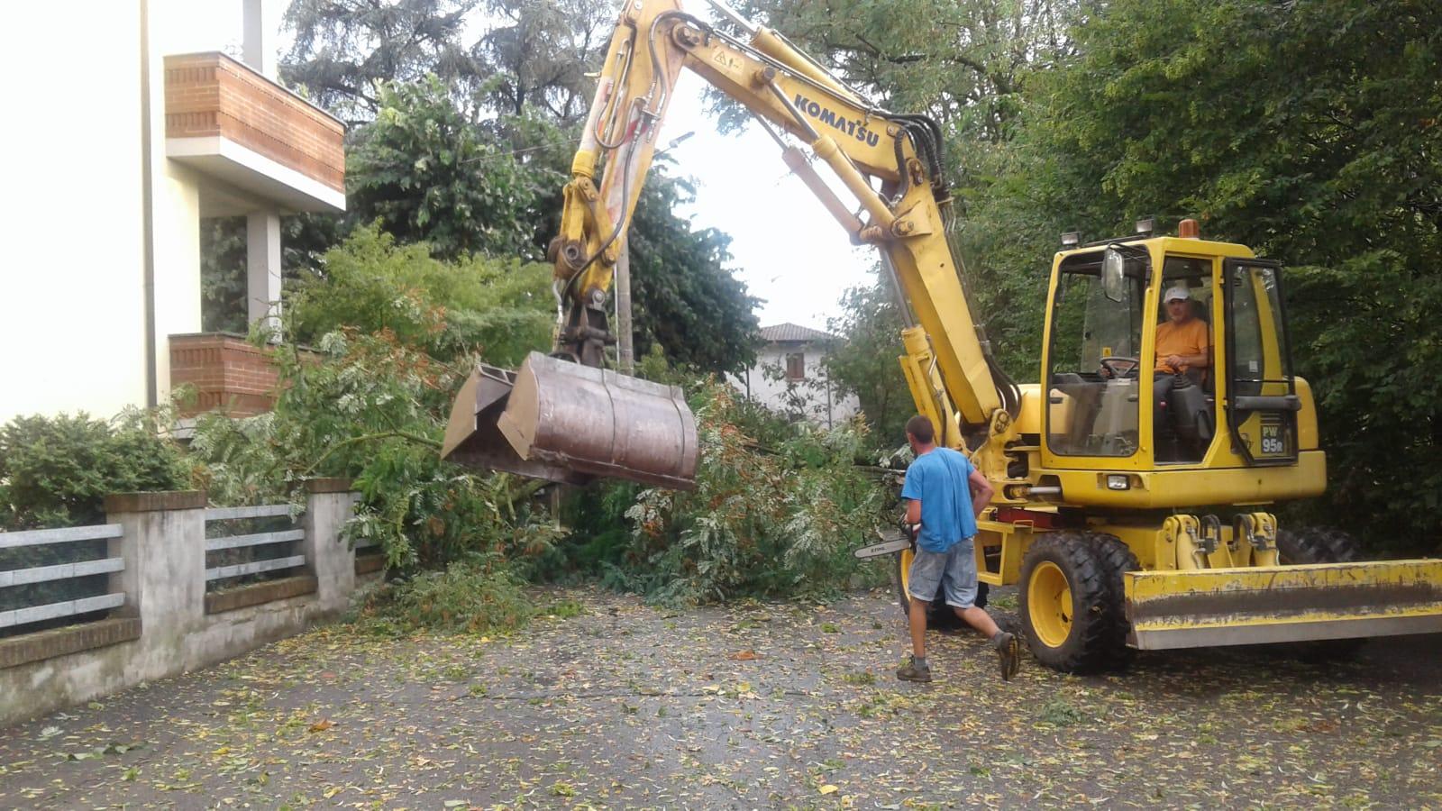 Maltempo estivo, chiesto lo stato di emergenza anche per Piacenza