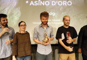 """Concorto Film Festival, all'animazione tedesca """"Sog"""" l'Asino d'Oro 2018"""