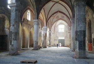 Ex Chiesa di San Lorenzo: pronta tra un anno. Ecco come si presenta oggi