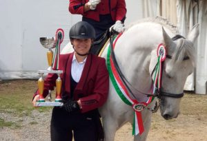 Eleonora Greco conquista il titolo italiano di categoria nel Circuito Master del Cavallo Iberico