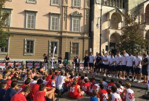 Presentata la nuova Assigeco: grande festa e amichevole con Legnano