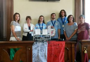 In Comune il team di robotica del Respighi, premiato in Messico