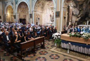 Parenti, istituzioni e tanti cittadini per l'addio a Gianluigi Boiardi